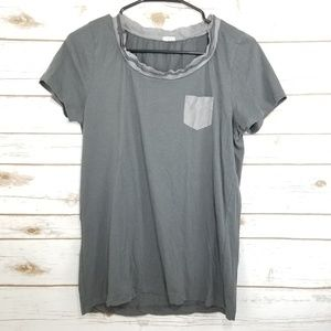 J. Crew tshirt size medium grey